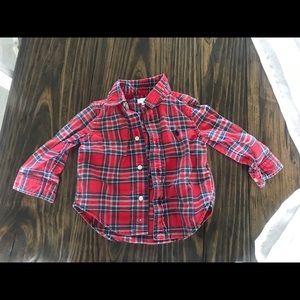 Ralph Lauren 12month button down shirt